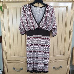 Roulette Knit Dress, sz Large